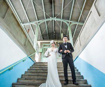 【高雄婚紗公司推薦】台灣婚紗公司評論比較!高雄婚紗店超多人推薦~手工禮服非常精緻又獨特,服務也是高水準!