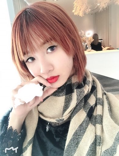 台中紋唇推薦+台中繡唇推薦Double Q最新嘟嘟唇技術~赤裸野橘色帶出我的好氣色